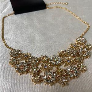 New INC multicolour flower necklace